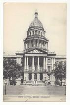 CO Denver Colorado State Capitol Vintage Mayrose Co 1940s Postcard - $6.49
