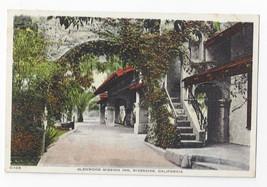 Riverside CA Glenwood Mission Inn Arch Vintage HH Tammen Tinted Postcard - $6.49