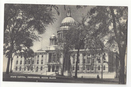 RI Providence Rhode Island State Capitol Vintage Mayrose Co 1940s Postcard - $6.49