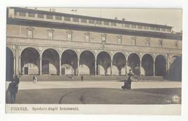 Italy Firenze Florence Spedale Degli Innocenti Hospital Vtg Real Photo P... - $6.49