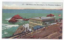San Francisco CA Cliff House from Sutro Heights Vntg Edw H Mitchell Post... - $6.49