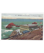 San Francisco CA Cliff House from Sutro Heights Vntg Edw H Mitchell Post... - $5.90