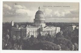 CA Sacramento California State Capitol Vintage Mayrose Co 1940s Postcard - $6.49