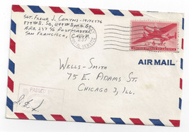APO 237 Censored WWII Army Cover 499th Bomb Gp 1945 Mariana Islands - $6.49