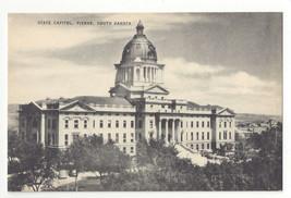 SD Pierre South Dakota State Capitol Vintage Mayrose Co 1940s Postcard - $4.99