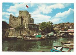 Turkey Istanbul Saheserleri Anadolu Hisari Castle Fortress Boat Vtg Post... - $4.99