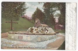 Lancaster PA Reservoir Park Blanch Nevins Fountain 1906 UND Postcard - $6.49