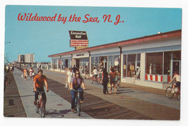 Wildwood NJ Boardwalk Bicycling Convention Hall Vintage 1972 Freeman Pos... - $6.49