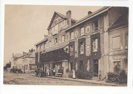 France Gonneville La Mallet Hotel Hostellerie des Vieux Plats Car Vtg Po... - $6.78