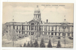 WY Cheyenne Wyoming State Capitol Building Vintage Mayrose Co 1940s Post... - $6.78