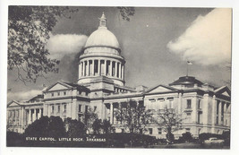 AR Little Rock Arkansas State Capitol Vintage Mayrose Co 1940s Postcard - $6.78