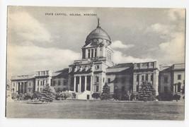 MT Helena Montana State Capitol Vintage Mayrose Co 1940s Postcard - $6.78