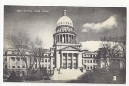 ID Boise Idaho State Capitol Vintage Mayrose Co 1940s Postcard - $6.78