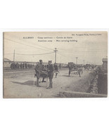 WWI France Allerey American Camp Soldiers Beds c 1918 Postcard - $6.78