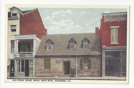 VA Richmond Old Stone House Vintage Postcard - $6.49