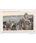 Quebec Canada Vue du Port Price Building Vintage Postcard - $6.49