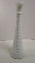 Bud vase anchor hocking milk glass stars and bars pattern 01 thumb200