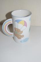 Mikasa Over The Rainbow Teddy Bear Parachute Rainbow Cup Mug - $19.95