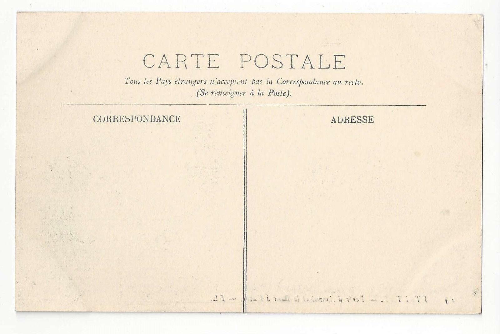 France Etretat Porte d'Amont et le Banc a Cuves Vtg ca 1910 Lucien Levy Postcard