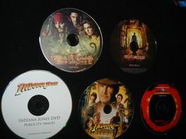 Lot Of 5 Digital PressKits -CD Photos- NIGHT AT MUSEUM, DEADMANS CHEST, ... - $14.80