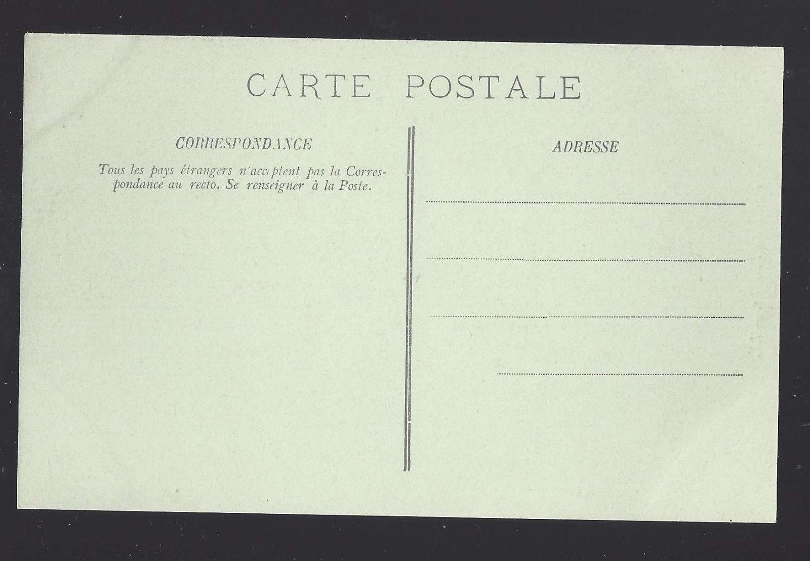 France Paris Rue Soufflot et le Pantheon Vtg Lucien Levy Postcard c 1910