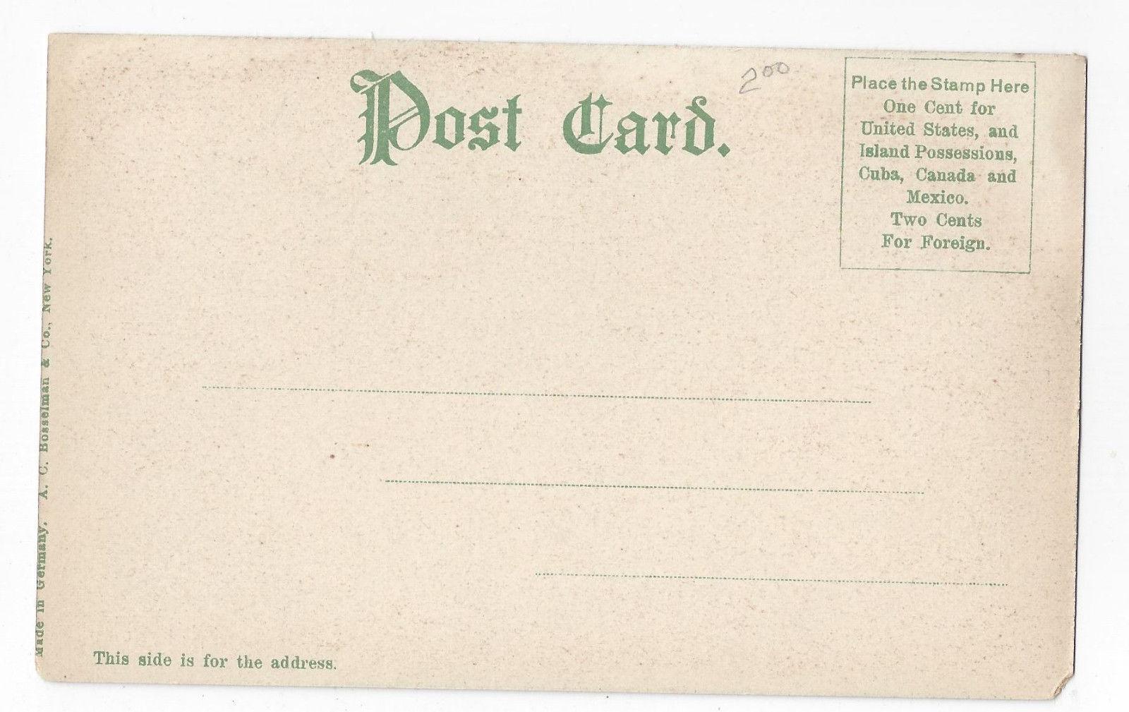 Harrisburg PA Paxtang Park View Vintage UDB Bosselman Postcard