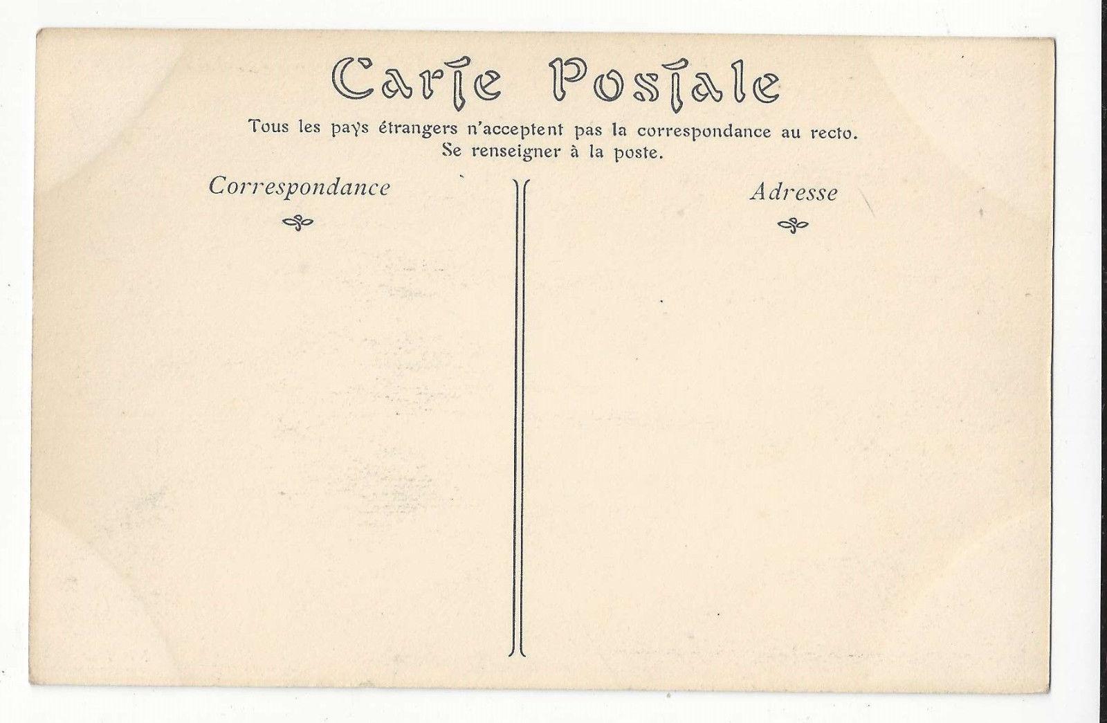 France Etretat Porte d'Aval et l' Aigulle Vtg ca 1910 ND Postcard