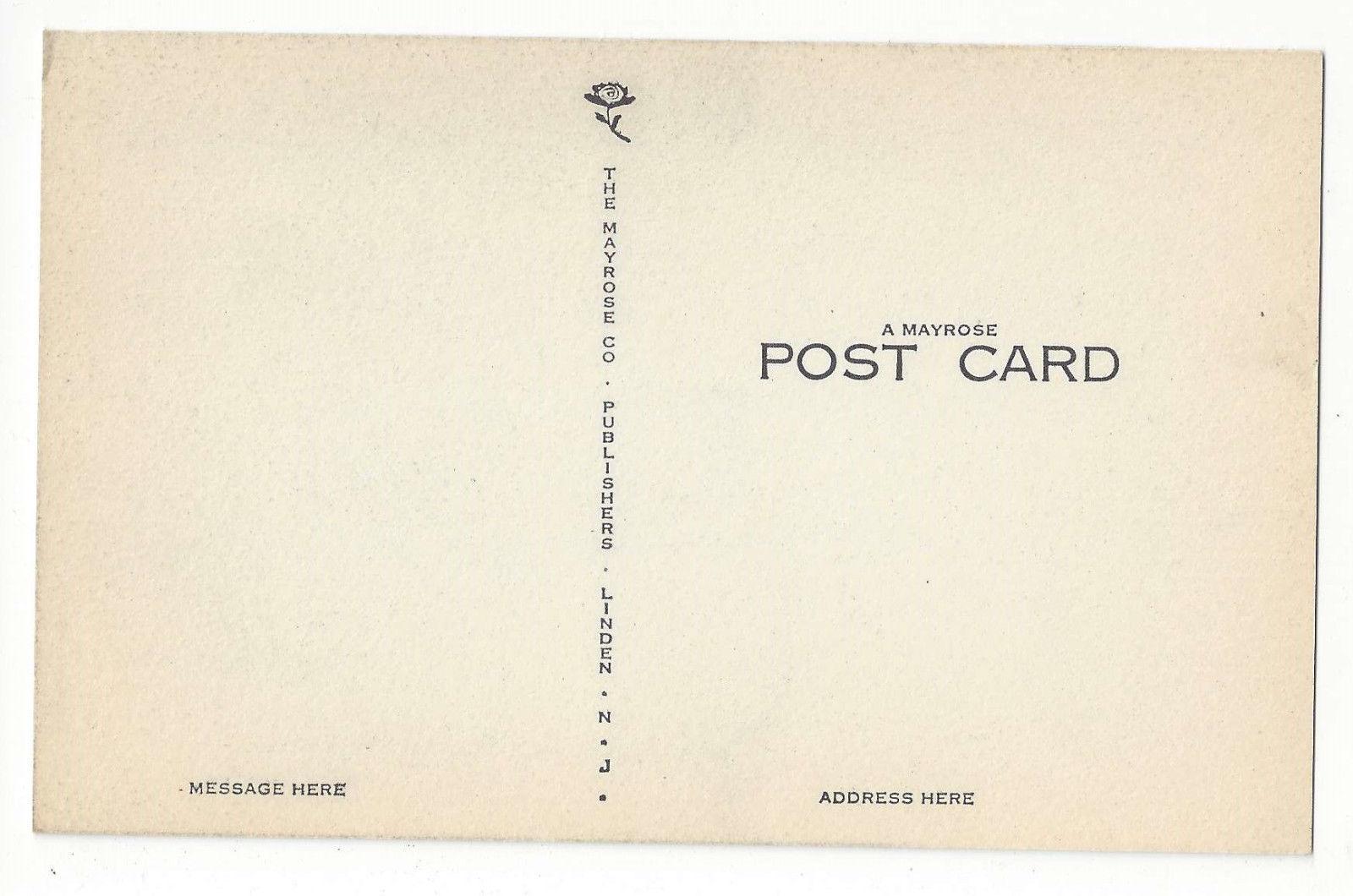 CO Denver Colorado State Capitol Vintage Mayrose Co 1940s Postcard