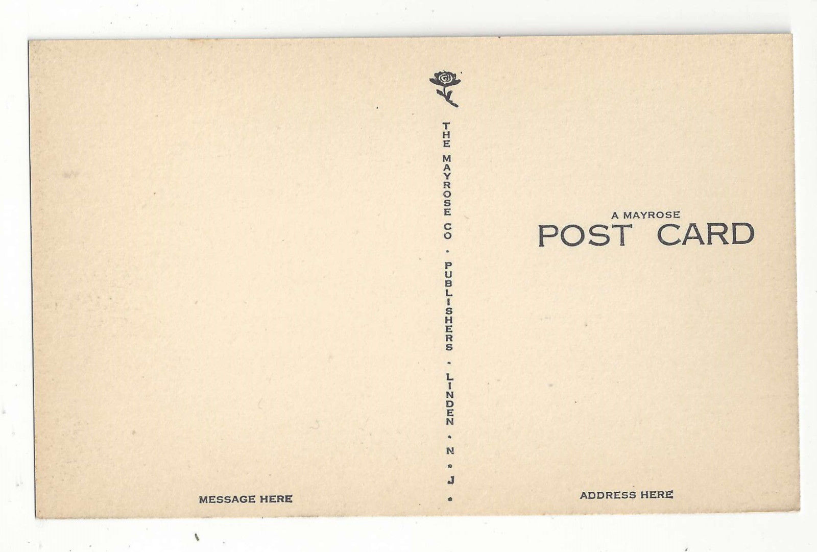WY Cheyenne Wyoming State Capitol Building Vintage Mayrose Co 1940s Postcard