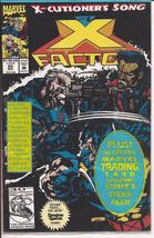 Marvel X Factor #85 SEALED X-cutioners Song Mutant Action Adventure - $1.95