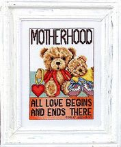 Motherhood cross stitch chart Bobbie G Designs - $7.20