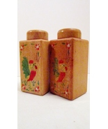 Salt and Pepper Shakers Wooden Country Kitchen Rooster Vintage Decor - $15.99