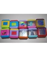 Fisher Price Peek A Blocks Sensory Collection Lot Set - $19.95
