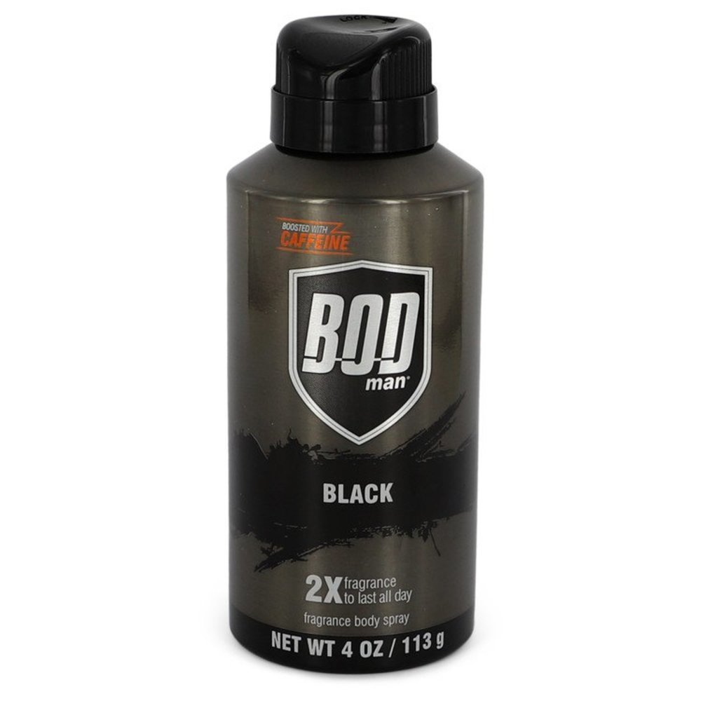 Primary image for Bod Man Black By Parfums De Coeur Body Spray 4 Oz For Men