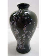 Green Baluster Vase, 1980 Franklin Mint Treasures Imperial Dynasties - $9.43