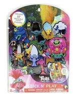 Trolls 2 Stick N Play Includes 27 Reusable Puffy Stickers New in Package  - $7.92