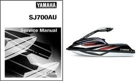96-12 Yamaha Super Jet SJ700A Service Repair Manual CD - SuperJet SJ 700 SJ700 A - $12.00