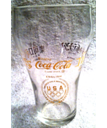 Salute to 1976 Olympic Games Coca Cola Glasses - $15.99