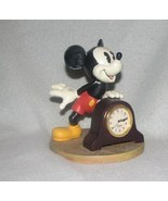 Collectible Vintage 1990 Disney Mickey Mouse Desk Clock  - $25.99