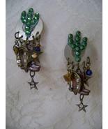 Earrings, Western Themed with Rhinestone Cactus, Cowboy Boots, Horseshoe... - $19.00