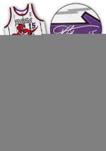 Vince Carter Toronto Raptors Autographed Mitchell & Ness Retro Basketbal... - $600.00
