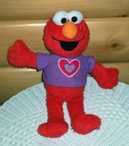 Sesame Street Talking Elmo Many Hugs with Heart T-Shirt Ready for Fun - $8.99