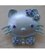 Pin/Brooch, Blue Hello Kitty, New  - $9.00
