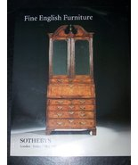 Sotheby's Fine English Furniture. London Friday... - $25.00