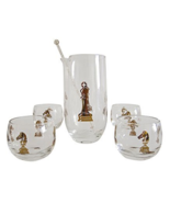 Hickok Checkmate Martini Cocktail Set, Vintage - $95.00