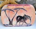 African soapstone kenya coin change dish elephant carved pink thumb155 crop