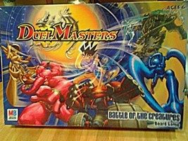 Duel Masters Battle of the Creatures Milton Bradley Board game - $17.99