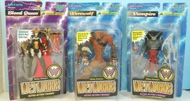 1995 Lot of White Portaciao's WETWORKS Action Figures McFarlane Toys Wil... - $23.76