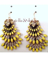 Stella & Dot NORAH CHANDELIERS EARRINGS Barcode... - $46.33