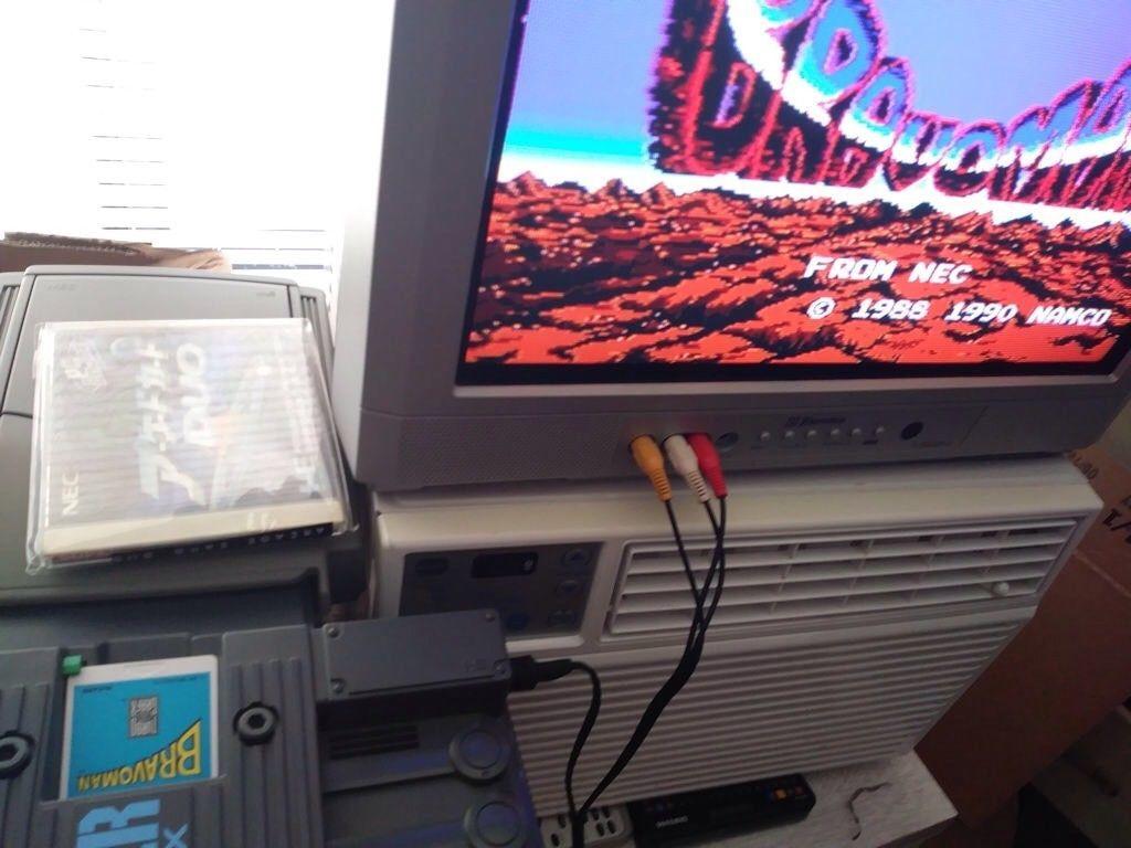 Modified Super Grafx, Super CD Rom^2, Arcade Card Duo, Games Express CD Card